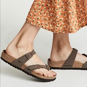Birkenstock Mayari Sandal Size 38M Mocha NEW